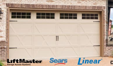 garage door repair work